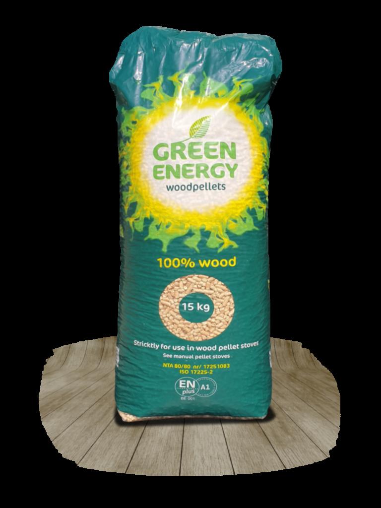 Pure Green® White Energy Pellets